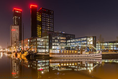 HDR of 4 shots Westersingel Leeuwarden
