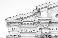 Di Vis Am Bro Sio (Noonski) Tags: di vis am bro sio rome italie black bw blackwhite blackandwhite white zwart en wit monochrome high contrast