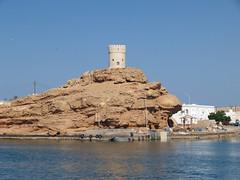 Al Ayjah Watchtower (SteveInLeighton's Photos) Tags: october 2007 oman sur watchtower