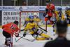 Vitalij Aab's shot blocked (Katzenfutter) Tags: del2 del eishockey bad nauheim ec ecbadnauheim badnauheim roteteufel füchseweisswasser weisswasser weiswasser
