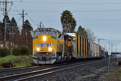 UP LRJ90-11 (caltrain927) Tags: union pacific railroad mixed freight local train emd sd70acet4 tier 4 sd59mx sd59m2 sd70m california ca fairfield