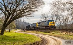 CSX U100-10 Irwin (HeritageNY) Tags: csx yn2 ac60cw train hopper coal va