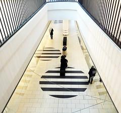 Looking down (Jaedde & Sis) Tags: bruuns galleri down mall stripes geometric patterns symmetry perspective challengegamewinner 15challengeswinner fotocompetition fotocompetitionbronze fotobronze flickrchallengewinner flickrchallengegroup