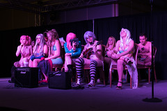 _DSC0114 (In Costume Media) Tags: sexy swimsuit girls guys halfnaked swimwear competition cosplay cosplayers newcon 5 stage con fun funny