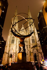 Atlas -7360 (NWPaddler) Tags: 2016 atlas catherdral christmas christmas16 church manhattan monday nyc newyork newyorkcity night nightshots nikon rockefellercenter stpatrickscathedral statue xmas16