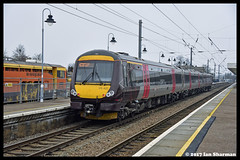 No 170637 25th Jan 2017 Ely (Ian Sharman 1963) Tags: no 170637 25th jan 2017 ely class 170 dmu engine railway rail railways train trains loco locomotive passenger waml west anglia mainline station cross country birmingham new street stansted airport