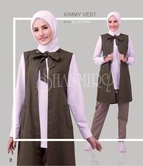 New Arrival!!  SJARME OBSERFASHION  Code      : Kimmy Vest Material : Baby Canvas Color      : Olive Size        : Allsize Price      : IDR 275k  Contacts :  +628982956050 5AC92755  Follow : @shasmirahaznapalembang @shasmira_plg Fb Ig twt Path Tumblr Fl (firaya_azzahra) Tags: blouse shasmira vest palembang tuniq tunik shasmirahaznapalembang blus shasmirapalembang busanamuslimah cardigan moslemwear bolero