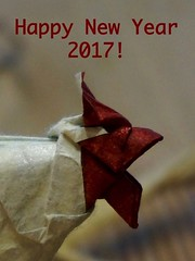 Happy New Year 2017 (Tagfalter) Tags: