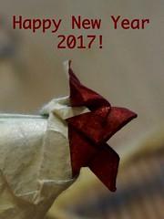 Happy New Year 2017 (Tagfalter) Tags: