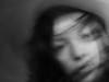 UNSETTLED (MacroMarcie) Tags: monochrome blackandwhite macromarcie selfie selfportrait fuji x20 motion