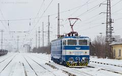 Blue and white (Radler.z) Tags: le5100 46028 bdz cargo freight train voluyak station blue white влак бдж товарен локомотив машинист електровоз