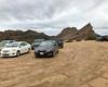 001 Muddy Vasquez Rocks Parking Lot (saschmitz_earthlink_net) Tags: 2017 california orienteering vasquezrocks aguadulce losangelescounty laoc losangelesorienteeringclub