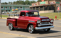 1959 Chevrolet 3100 Apache (SPV Automotive) Tags: 1959 chevrolet 3100 apache pickup truck classic car red