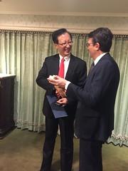 Con il Ministro degli Affari Esteri Wu Chih-Chung