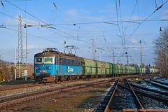 PSŽ 181.008 , Pn 51014 , Spišská Nová Ves , 08.02.2014 (Michal350) Tags: train vlak 181008 cd cargo spisska nova ves