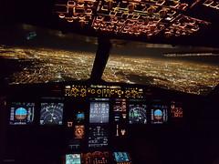 Paris (peterpe1) Tags: paris cockpit flight night flickr peterpe1