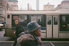 overcast cross (ekonon) Tags: bus nikonl35af2 pedestrians film manhattan nikononetouch nyc