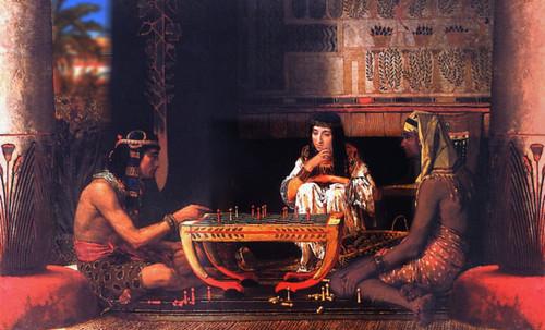 "Senet - Lujoso sistema de objetos lúdicos obsequio del dios Toht a la faraona Nefertari • <a style=""font-size:0.8em;"" href=""http://www.flickr.com/photos/30735181@N00/32399619541/"" target=""_blank"">View on Flickr</a>"