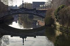 Whitefriars Bridge [19/365 2017] (steven.kemp) Tags: norwich river wensum bridge water magdalen street reflection whitefriars