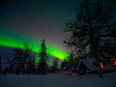 Pallaskota at Pallastunturi, Finland (Kuutti Heikkilä) Tags: pallas pallastunturi northern lights aurora borealis lappi lapland finland