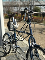 pottering with ALEX MOULTON APB (yama_d) Tags: moulton apb モールトン pottering ポタリング 自転車 bicycle