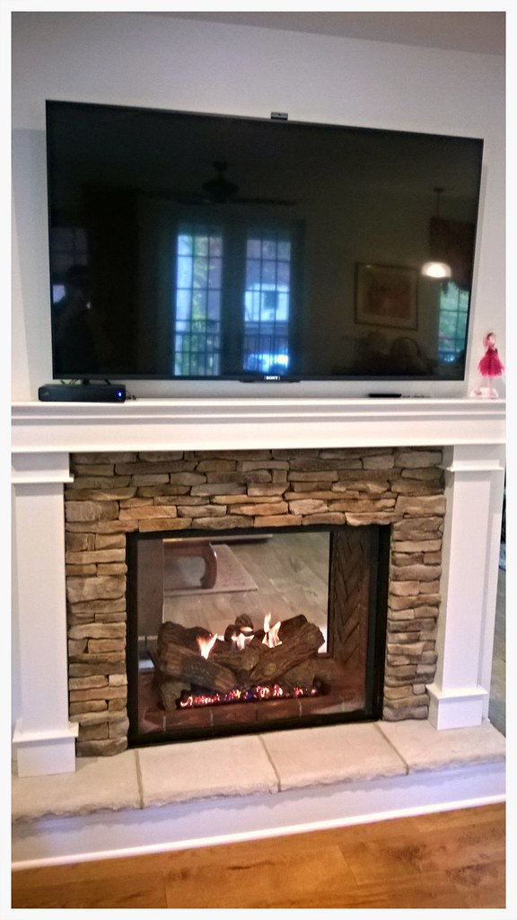 Monessen See Thru Direct Vent Fireplace. Chattanooga, Tn.