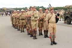 British Soldiers (Itinerant Wanderer) Tags: pennsylvania airshow worldwarii reenactors berkscounty midatlanticairmuseum