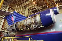 JT8D-15, UAL 727-222 N7259U (Ian E. Abbott) Tags: mechanical sfo jetengine boeing ual unitedairlines pw 727 sanfranciscointernationalairport prattwhitney ksfo boeing727 727200 turbofan 21406 727222 prattwhitneyjt8d jt8d aircraftmaintenance jt8d15 boeing727200 pwjt8d ualsfo n7259u unitedairlinessfo boeing727222 prattwhitneyjt8d15 pwjt8d15