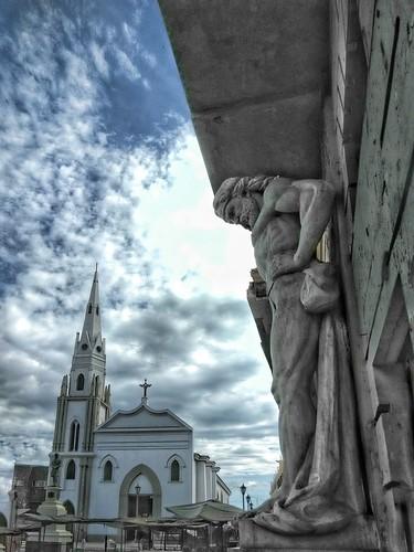 Iglesia el Convento de Francisco de Asís  & Atlante, Maracaibo-Venezuela