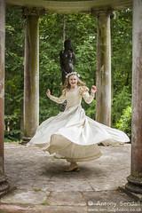 2015_06_20 Georgia TotS 373 (Sendall) Tags: cute beautiful costume model sweet spin shakespeare twirl blonde actress stunning actor youngwoman folly headband delightful csc headdress chilternshakespearecompany