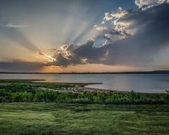 Wilson Lake, Kansas (corkemup52) Tags: sunset nature landscape outdoors kansas wilsonlake nikon18200mm nikond7000