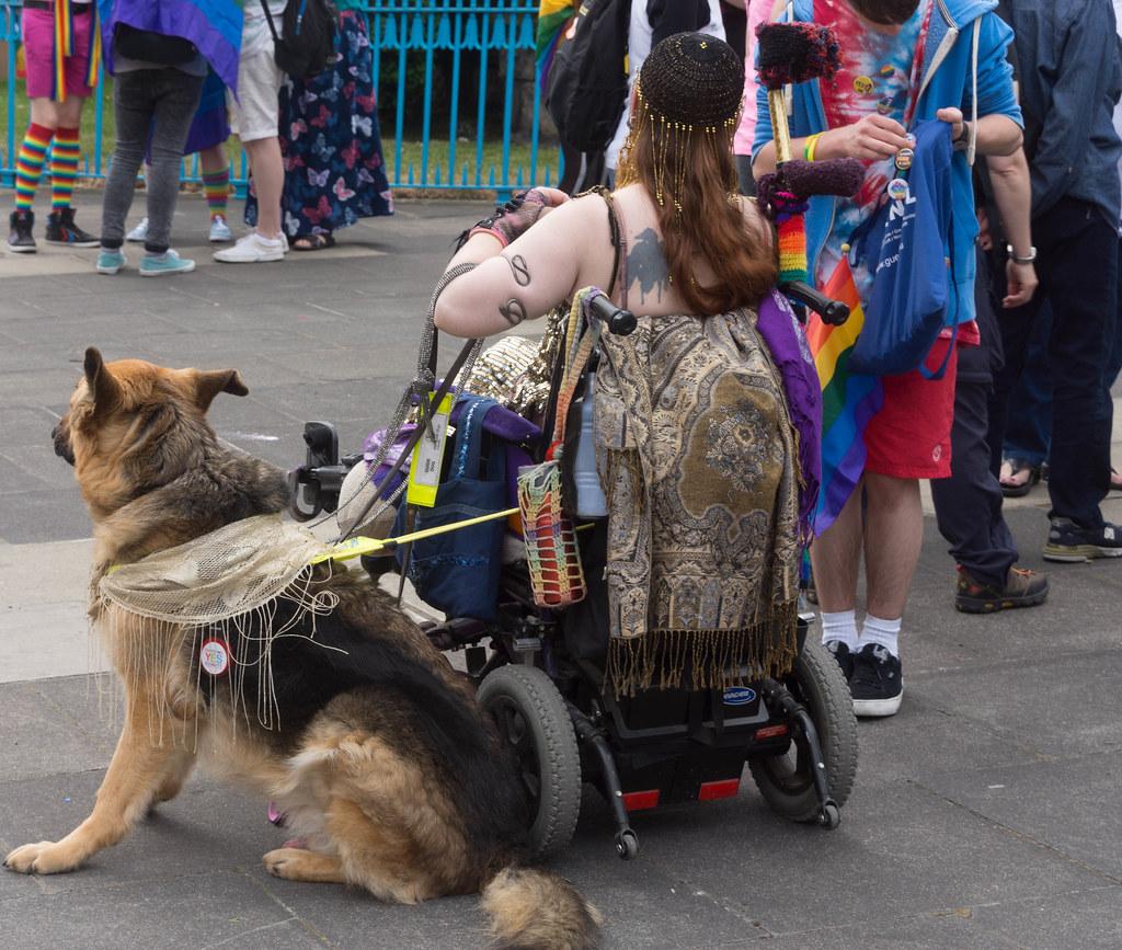DUBLIN 2015 LGBTQ PRIDE FESTIVAL [PREPARING FOR THE PARADE] REF-106208