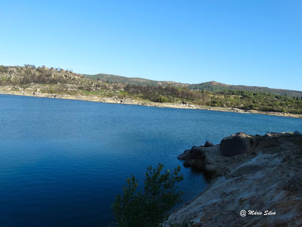 Águas Frias (Chaves) -  ... barragem das Nogueirinhas (ou Arcossó)