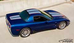 2003 C5 Corvette 50th Anniversary Z06 (scott597) Tags: 2003 blue ohio cars coffee anniversary 4th july 50th corvette greene dayton c5 z06 2015