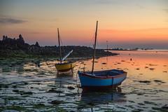 le port d'argenton (fubu.flemm) Tags: sunset sea mer france port boat seaside brittany bretagne océan argenton bâteaux borddemer