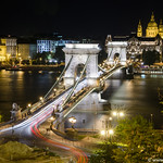 Budapest Chain Bridge City View thumbnail