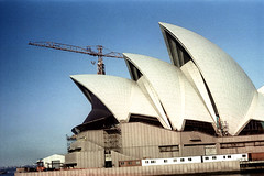 27-164 (ndpa / s. lundeen, archivist) Tags: city color building film architecture 35mm buildings harbor construction harbour crane nick sydney australian australia cranes nsw 1970s operahouse 27 1972 underconstruction sydneyharbour sydneyoperahouse dewolf oceania nickdewolf photographbynickdewolf reel27