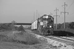 Tribute to days gone by... (BSTPWRAIL) Tags: railroad america train illinois grain rail railway toledo western locomotive local peoria tpw gp402 gp40 cruger railamerica
