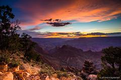 Nature's canvas (JD~PHOTOGRAPHY) Tags: sunset sky mountain nature canon landscape dusk grandcanyon canyon serene southrim naturescolours grandcanyonnationalpark grandcanyonsunset grandcanyonsouthrim canon6d serenelandscape
