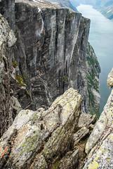 Lysefjord - A view from Kjerag (Karol Majewski) Tags: cliff water norway landscape valley fjord scandinavia dolina woda rogaland lysefjord kjerag ryfylke krajobraz norwegia ściana skandynawia