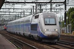 SNCF TGV 701 (Will Swain) Tags: travel france station train de french europe gare maisons south transport july rail railway trains vert des east le railways 13th franais socit parisian tgv sud fer est sncf nationale 701 2015 chemins