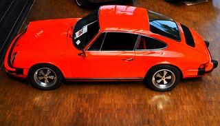 orange on Porsche 911 S Coupé