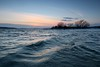 Winter Solstice (deanspic) Tags: 100paddles 118100 g3x winter wintersolstice wintercanoeing water wave waves sunset explore