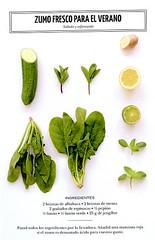 zumo fresco para el verano (sucsverds) Tags: ferngreen zumo salado refrescante albahaca menta espinacas pepino limón limónverde jengibre a i bp