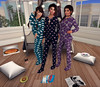 Sleepover (StarryPoo) Tags: secondlife sl avatar family sleepover slumber party photography