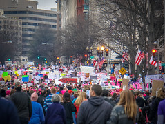 2017.01.21 Women's March Washington, DC USA 2 00160