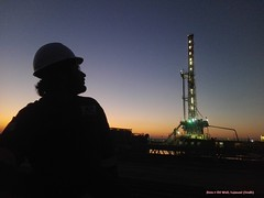 In my Profession (jawadqada) Tags: pakistan rig petroleum geology