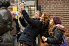 selfie acrobatique (Don Pedro de Carrion de los Condes !) Tags: donpedro d700 fx candid portret phone mobile smartphone straat utrecht mensen gebogen social media