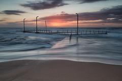 Mona Vale Sunrise (RoosterMan64) Tags: australia clouds landscape monavale nsw rockpool seascape sunrise sydney leefilters longexposure