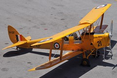 VH-CKF / A17-421 De Havilland DH-82A Tiger Moth (johnedmond) Tags: perth ypjt jandakot jad tiger moth havilland dh82 australia aviation aircraft aeroplane biplane sel55210 55210mm